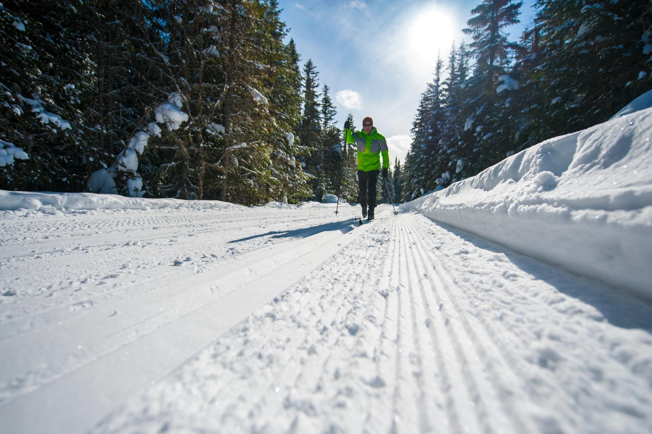 ski réserve faunique des Laurentides