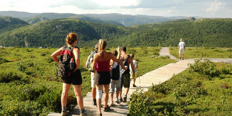 Parc national des Grands-Jardins, randonnée pédestre , Charlevoix